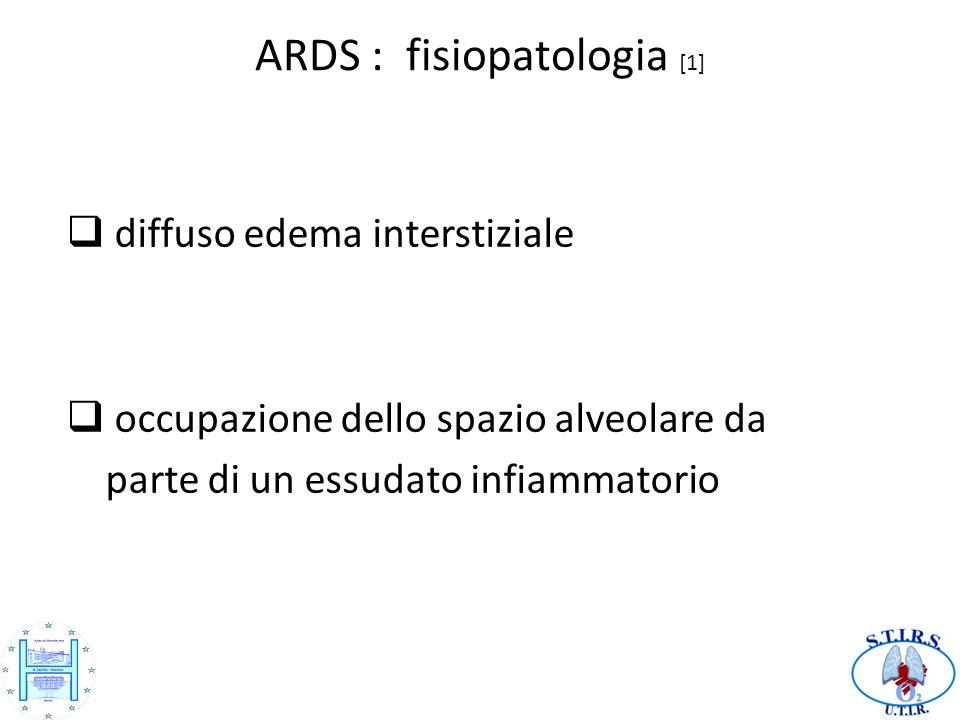 ARDS : fisiopatologia [1]